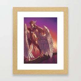Harps Framed Art Print