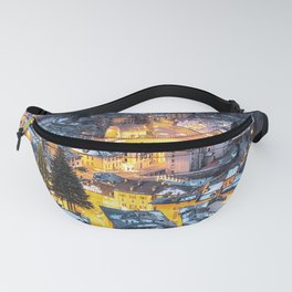 Christmas Village Fanny Pack