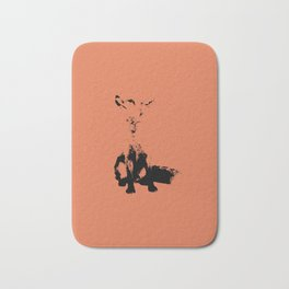Fox Orange Bath Mat