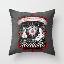 Night Circus Throw Pillow