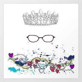 The Princess Diaries - the Princess wears Glasses?! Shut Up! Art Print