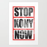Stop Kony Art Print