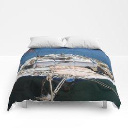 Moored Fishing Boat Comforters