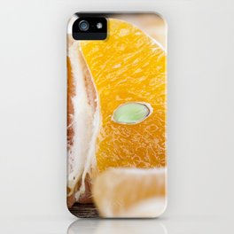 delicious tangerines iPhone Case
