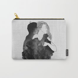 You are my peaceful heaven b&w. Carry-All Pouch