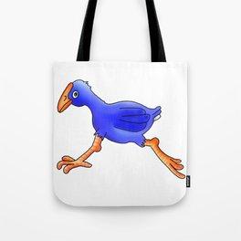 Running Pukeko - Swamp hen Tote Bag