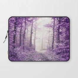 Take me home where I belong (deep purple forest) Laptop Sleeve