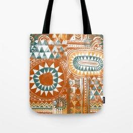 Tribal Bohemian Mosaic Tote Bag