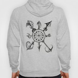 Clock Time Hoody