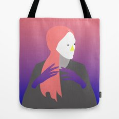 pensive Tote Bag