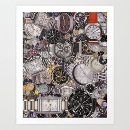 It's About Time Art Print