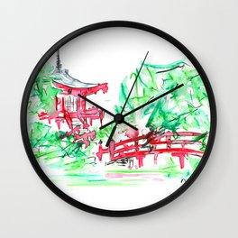 Hidden Wonders Wall Clock