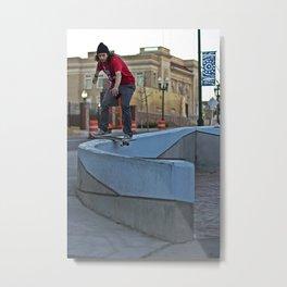 Boardslide Metal Print