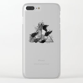 The Gifts Black and White Version Clear iPhone Case