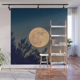 Full Moon Rising Wall Mural