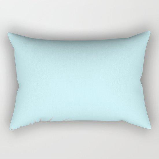 Clear Palm Skies Rectangular Pillow