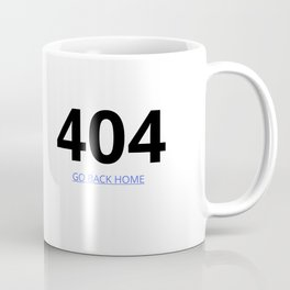 404 page Coffee Mug