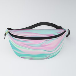 Iridescent Marble 08 Fanny Pack