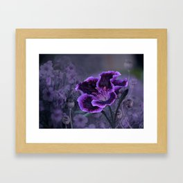 The Passion of Purple Framed Art Print