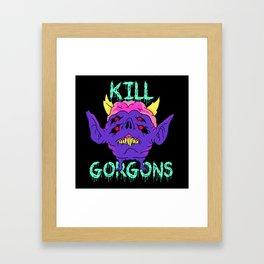 #killgorgons Framed Art Print