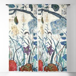 nature【Japanese painting】 Blackout Curtain