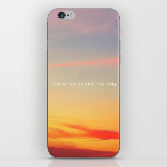 Tomorrow is another day iPhone & iPod Skin
