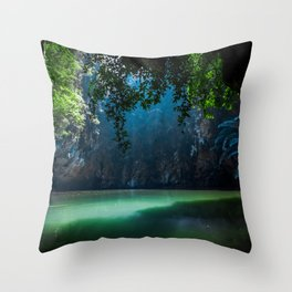 Lagoon Throw Pillow