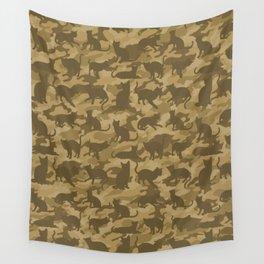 Operation Desert Cat Wall Tapestry