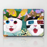 3d iPad Cases featuring 3D by Tummeow