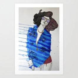 Fish Pajamas Art Print