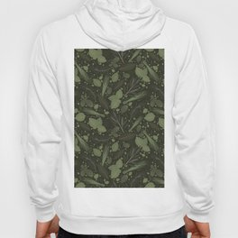 Green Herbs Spices / Olive Green Palette Hoody
