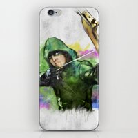 arrow iPhone & iPod Skins featuring arrow by evenstarss