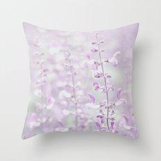 Purple dream Throw Pillow