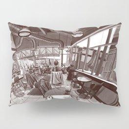 Coffee shop Pillow Sham