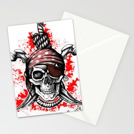 *** Ltd Edition: skull t-shirt Stationery Cards