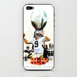 Super New Orleans Saints NFL Football iPhone Skin