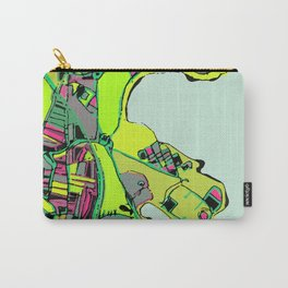 Abstract Map- UMASS Boston, Dorchester MA Carry-All Pouch