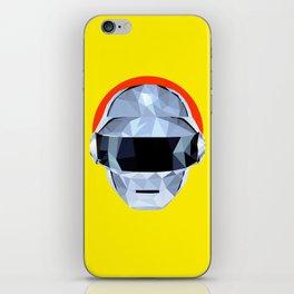 Daft Low Poly Punk iPhone Skin