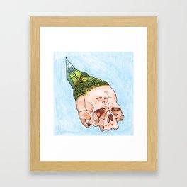Mountain Fresh Hair 2 Framed Art Print