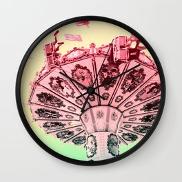 around and around Wall Clock