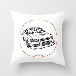 Crazy Car Art 0196 Throw Pillow