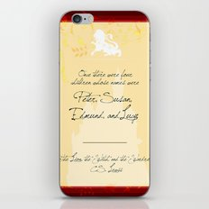 Lion, Witch, Wardrobe iPhone & iPod Skin