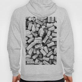 Something Nostalgic II Twist-off Wine Corks in Black And White #decor #society6 #buyart Hoody