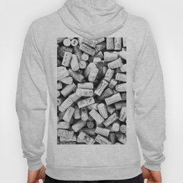 Something Nostalgic II Twist-off Wine Corks in Black And White #decor #society6 #buyart Hoody