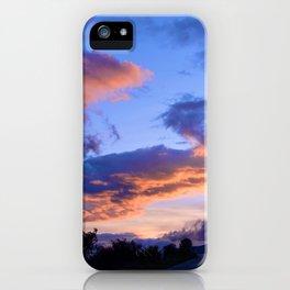 Evening Clouds iPhone Case