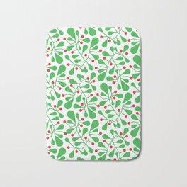 leaves pattern Bath Mat
