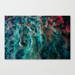 BUBBLE TRIBE Canvas Print