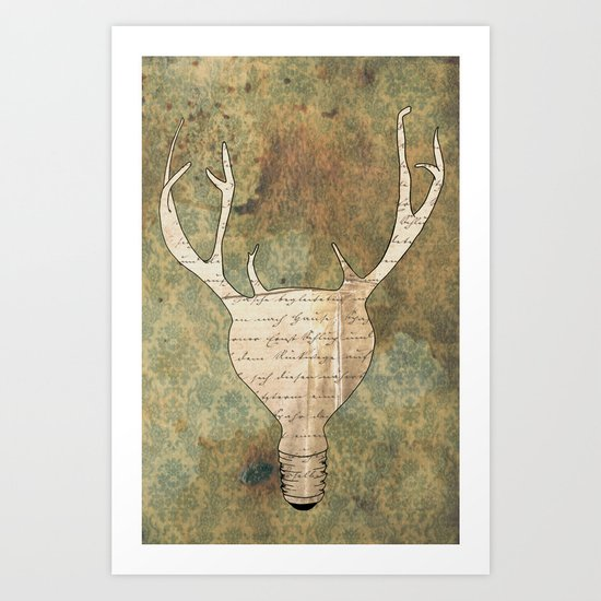 Brilliant Idear Art Print