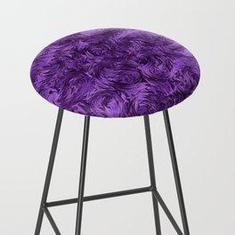 Marbled Paisley - Purple Bar Stool