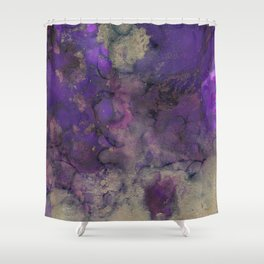 Alcohol Ink 'The Storybook Series: Arabian Nights' Shower Curtain